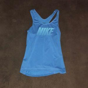 Nike Pro Razorback fitness tank- S